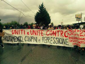 Proteste e repressione nella tendopoli di San Ferdinando in tempi di pandemia