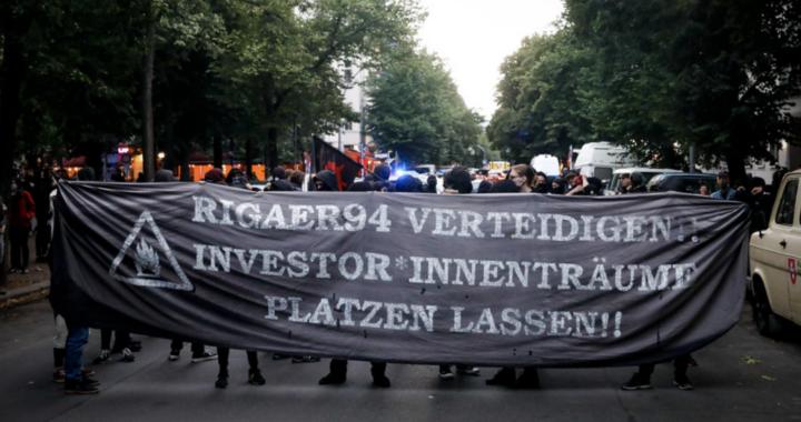 Berlino: Un altro tentativo di sgombero contro Rigaer94
