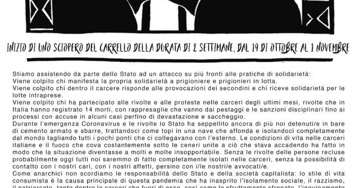 Trento: Manifesto in solidarietà a Juan e Nico
