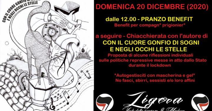 Modena: Pranzo benefit e discussione sulle politiche repressive dello Stato