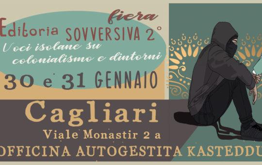 Fiera dell'editoria sovversiva Cagliari 30-31 gennaio