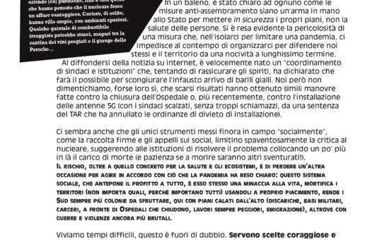 Sicilia: Nucleare? Né qui né altrove