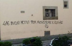 """Firenze: Presidio in solidarietà alle compagne e ai compagni sotto processo per l'Op. """"Panico"""""""