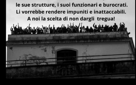 Genova: Presidio al carcere di Marassi il 27.02