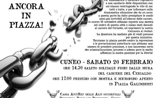 Da Cuneo: Ancora in piazza!