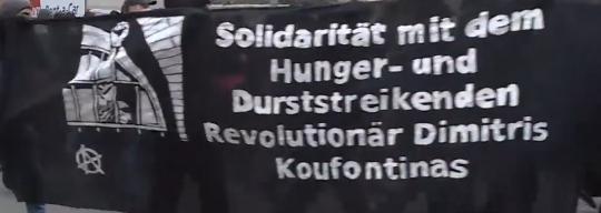 Koufontinas continua a resistere: aggiornamenti dalla Grecia