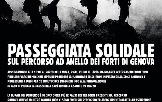 Genova: Benefit per Juan il 20.03