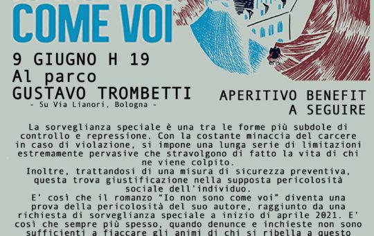 Bologna: contro Sorveglianze Speciali e misure di prevenzione