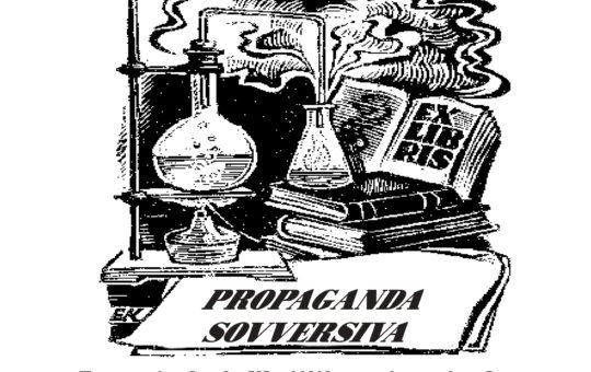 Carrara: Fiera dell'editoria anarchica il 25-26-27 giugno