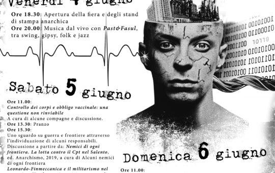 Lecce: Fiera dell'editoria anarchica – Pensiero e azione.