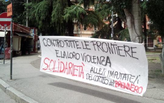 Bologna: Contro tutte le frontiere e la loro violenza!