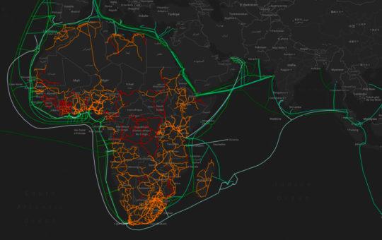 Ambizioni sul fondo del mare. Internet e l'Africa
