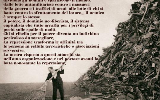 Val Bisagno: Incontro contro la Sorveglianza Speciale il 06.06