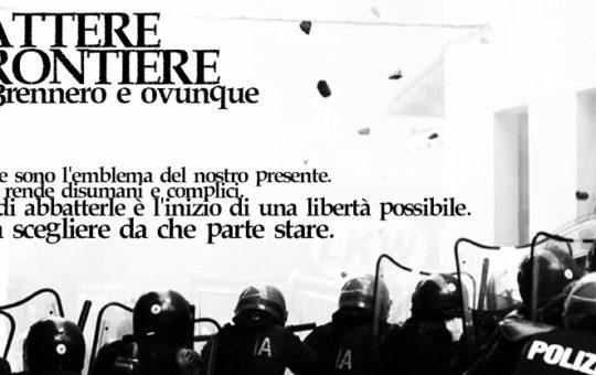 Manifestazione al Brennero: condanne per 166 anni+Intervista