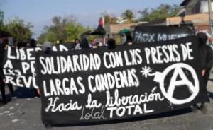 Parole di Mónica Caballero in solidarietà con la mobilitazione e lo sciopero della fame dei prigionieri anarchici e sovversivi trasferiti nel carcere di Rancagua