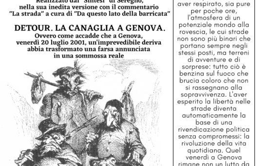 Trento: 2001-2021 Genova non è finita