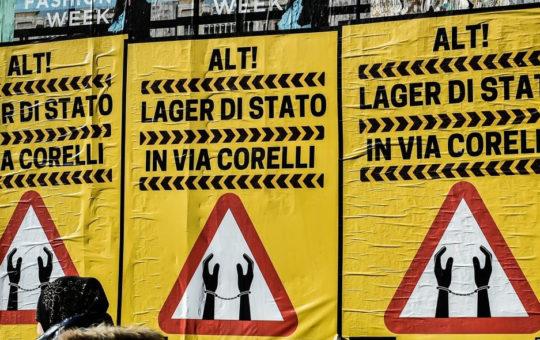 Il CPR di Milano, un posto da chiudere