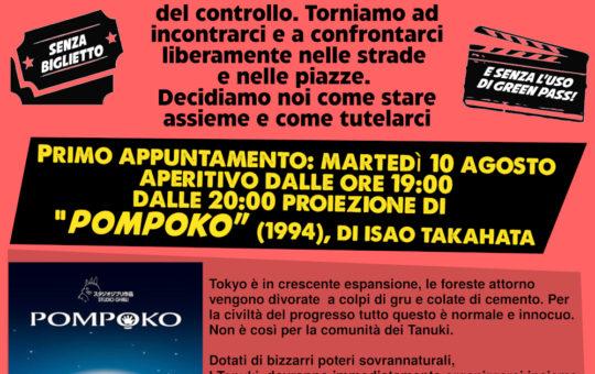 Trento: Cineforum contro il green pass