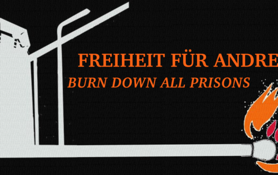 Solidarietà al prigioniero Andreas Krebs