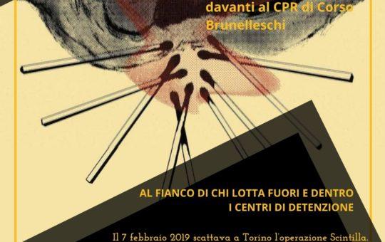 Op. Scintilla: Presidio Tribunale e CPR di Torino il 07 e 09 ottobre