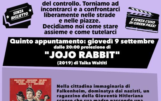 Trento: 4° cineforum contro il green pass