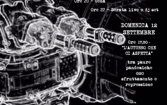 """Spoleto: Capitalismo ed elettrificazione+Due giorni """"Parole al vetriolo"""""""