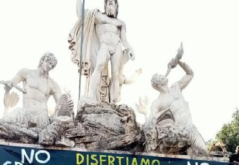 Aprire il vortice. Un breve report commentato sulla piazza del 9 ottobre a Roma